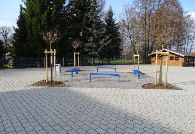 Schulhof Kalbe